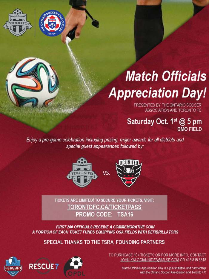 Match Official Appreciation Day_TSA